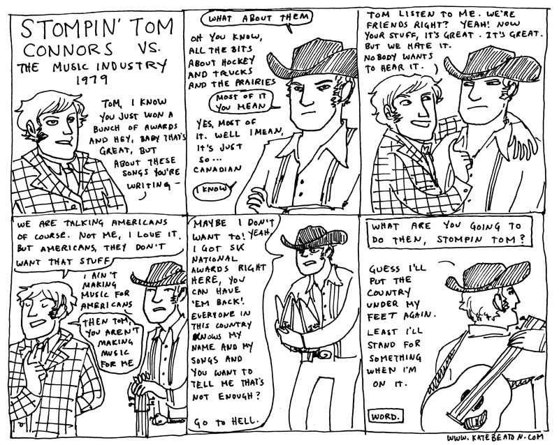 stompin tom - hark a vagrant