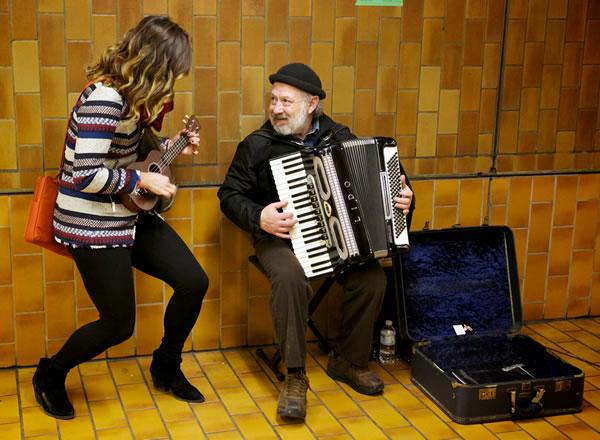 ukelele and accordion