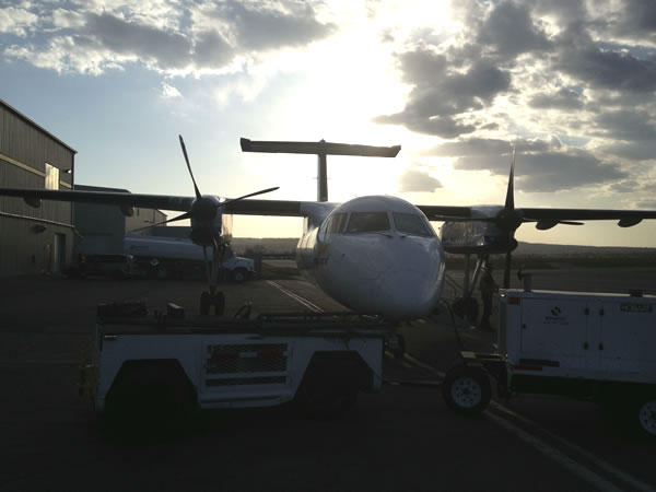 dash 8 in morning