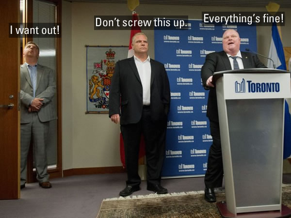 everything's fine - rob ford