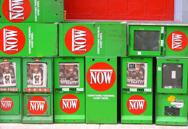 now magazine boxes