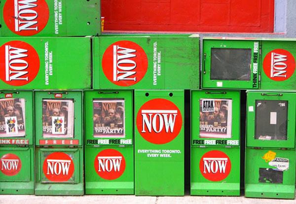 now magazine boxes