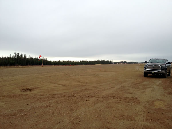open airstrip
