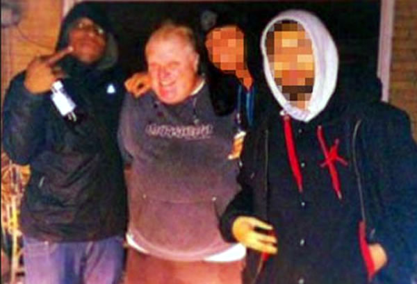rob ford and crack dealers