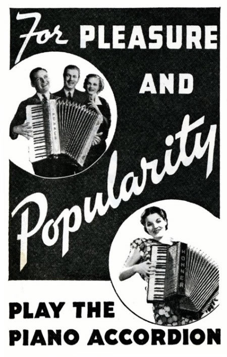 accordion - for pleasure and popularity