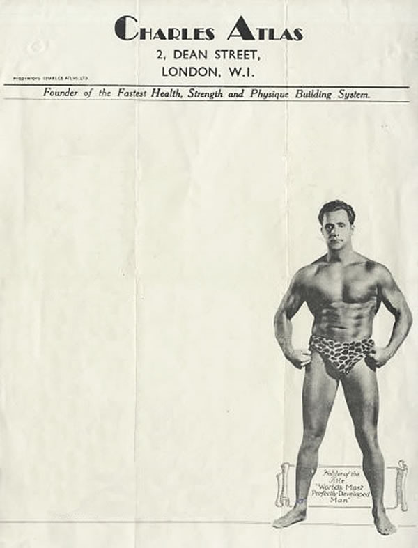 from the desk of charles atlas