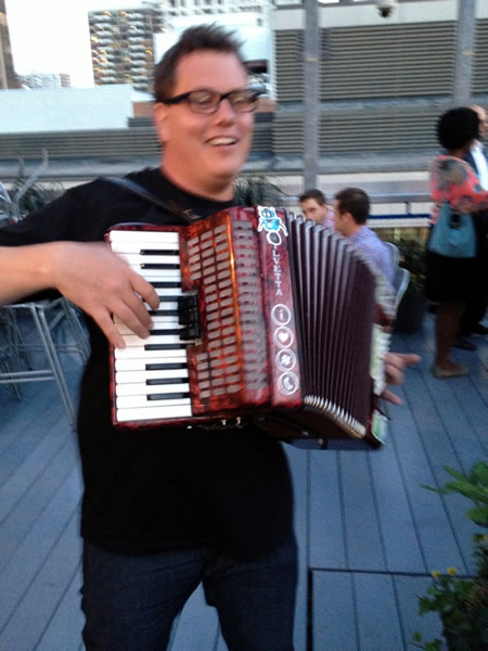 nathon and accordion