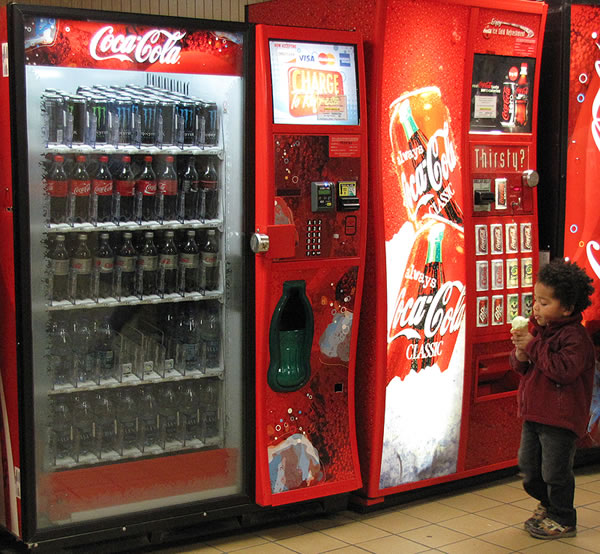 vending machine coke price