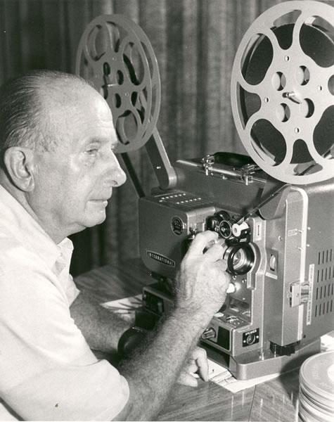 john walker - 1950s projector