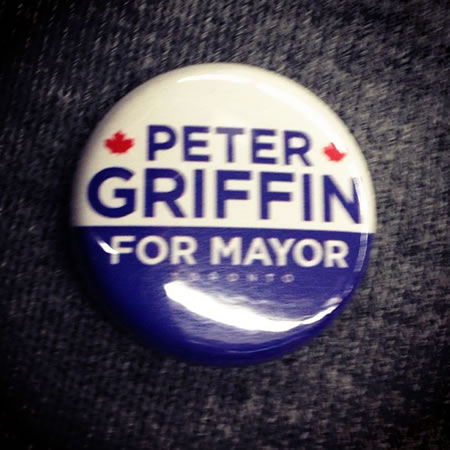 peter griffin for mayor
