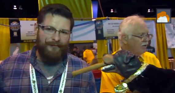 triumph the insult comic dog - craft beer fest