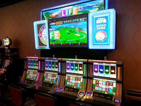 Game of life slot machine poker programming language