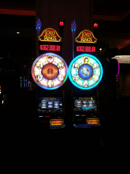 lord of the rings slot machines vegas