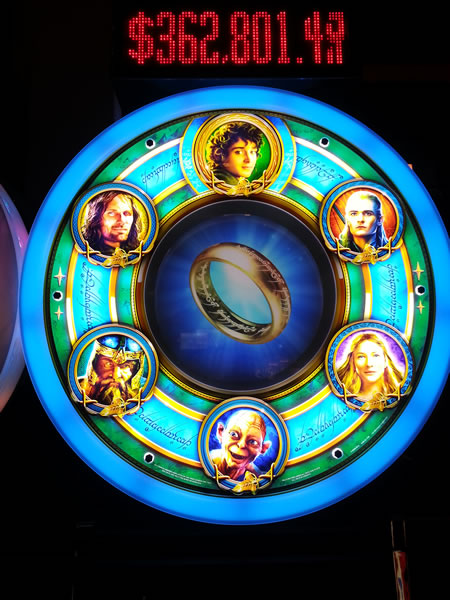 lord of the rings slot machine