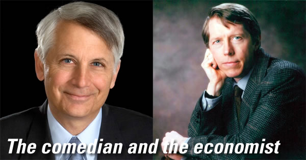 the comedian and the economist