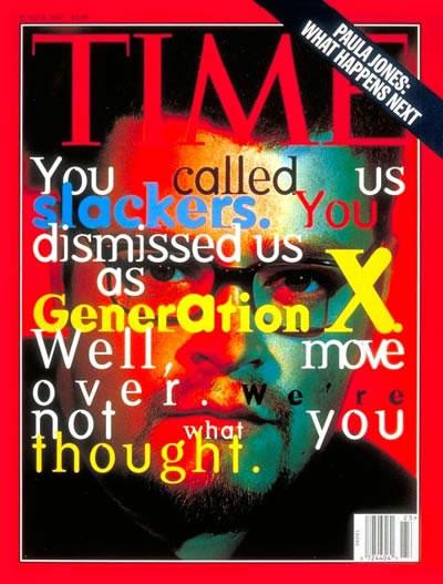 time magazine on gen x