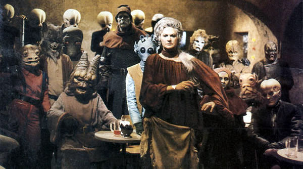 bea arthur at the cantina