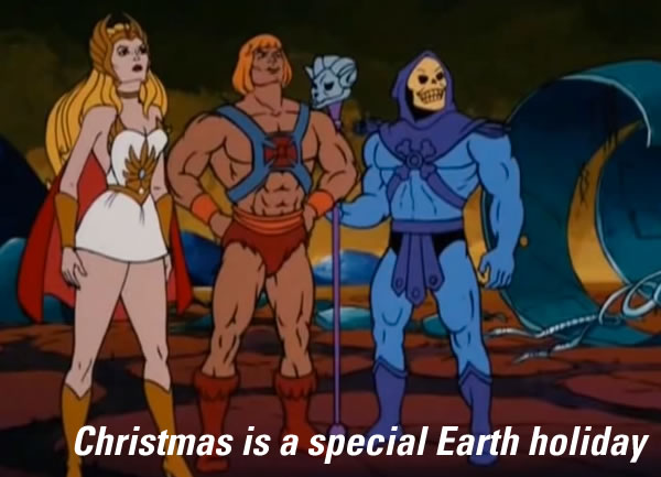 christmas is a special earth holiday