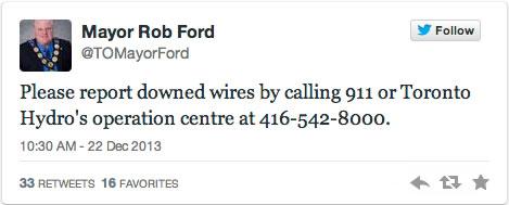 mayor wrong tweet