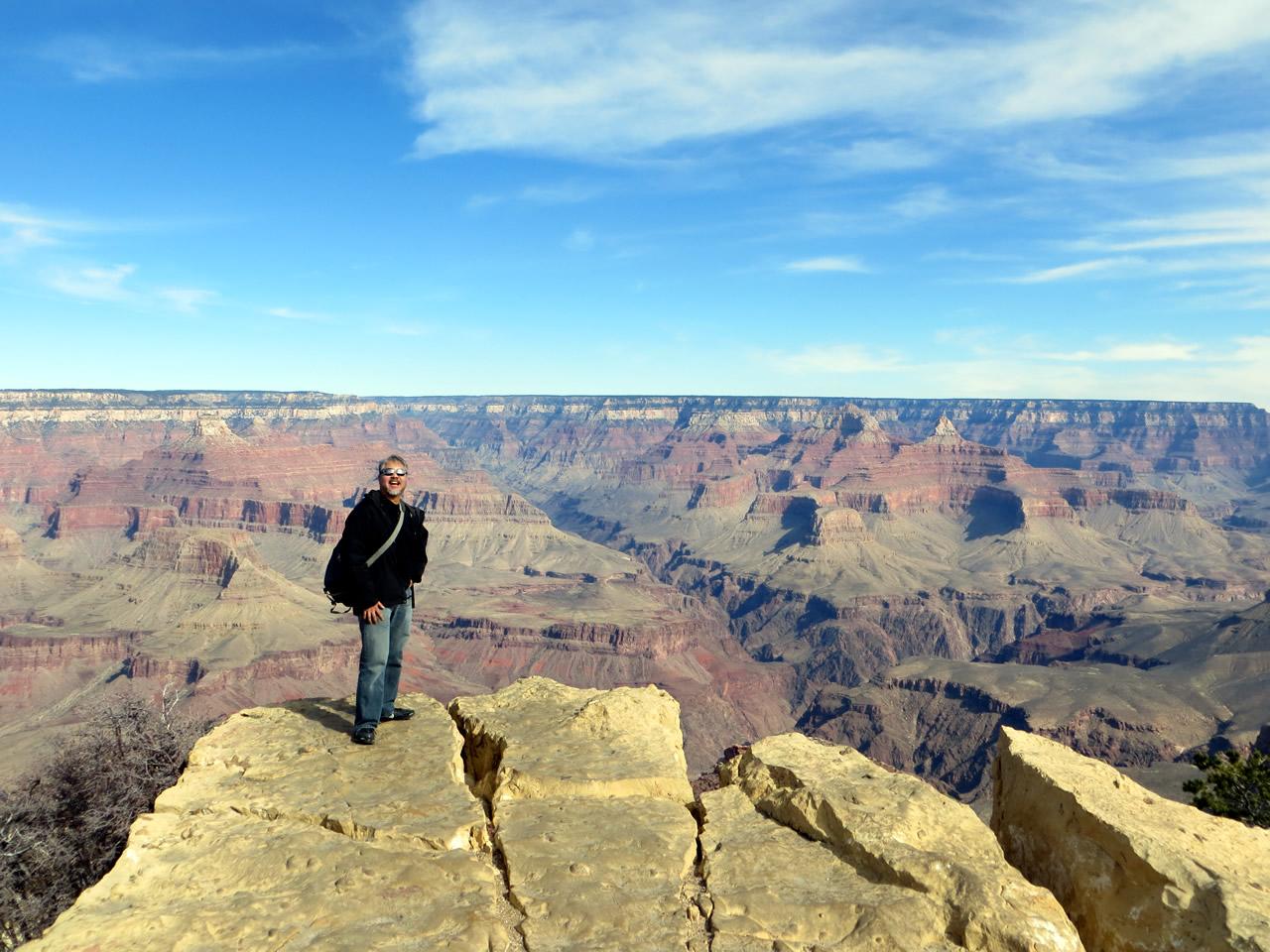 joey devilla at grand canyon