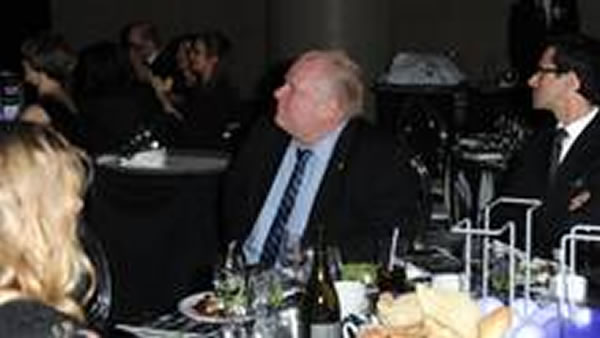 rob ford at board of trade dinner