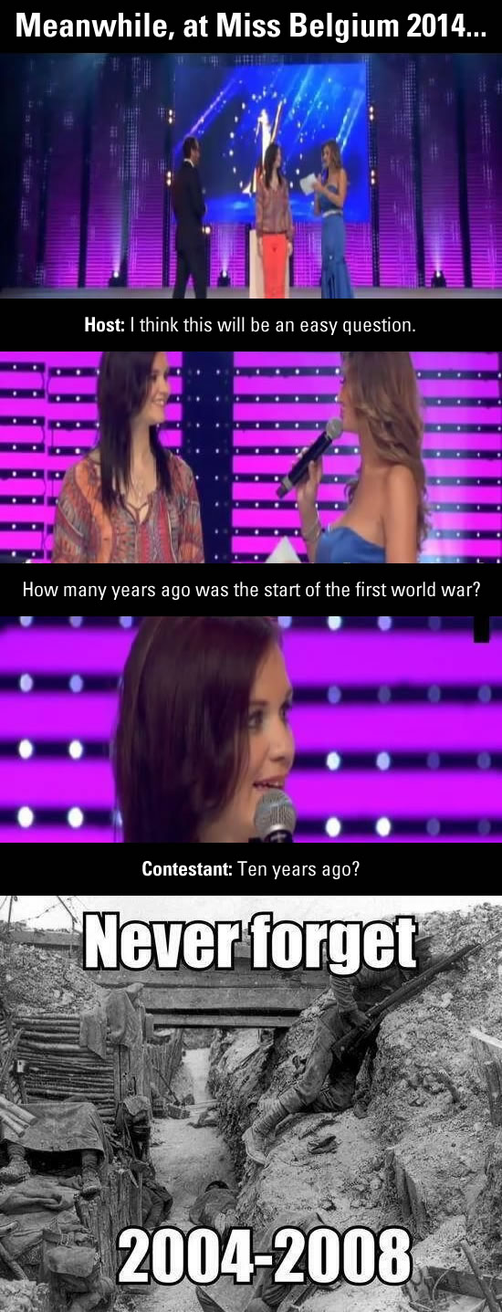 world war i 10 years ago