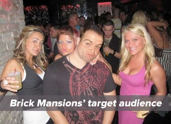 brick mansions target audience