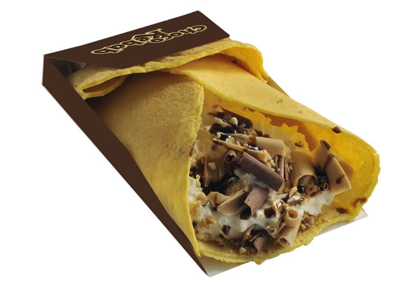 chocolate shawarma