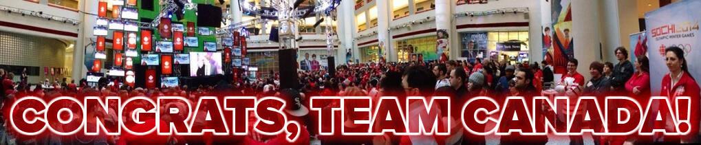 congrats team canada