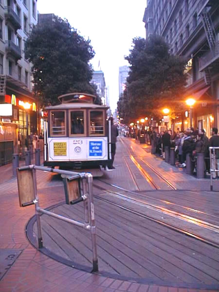 san francisco cablecar