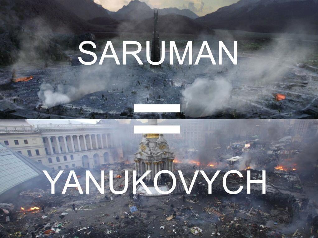 saruman - yanukovych