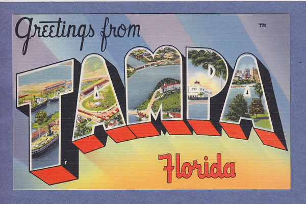 greetings from tampa florida