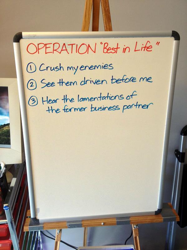 Current life plans