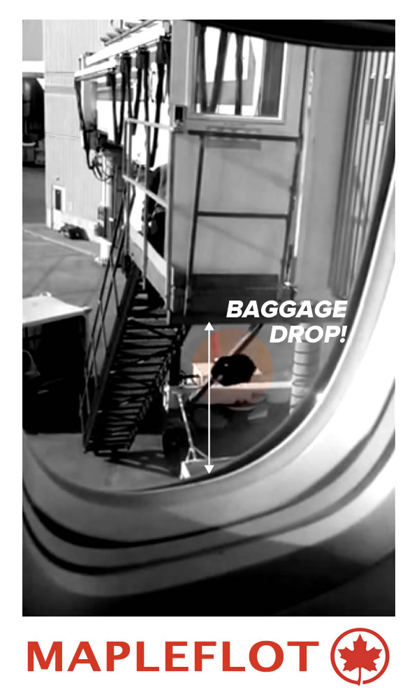 air canada baggage drop