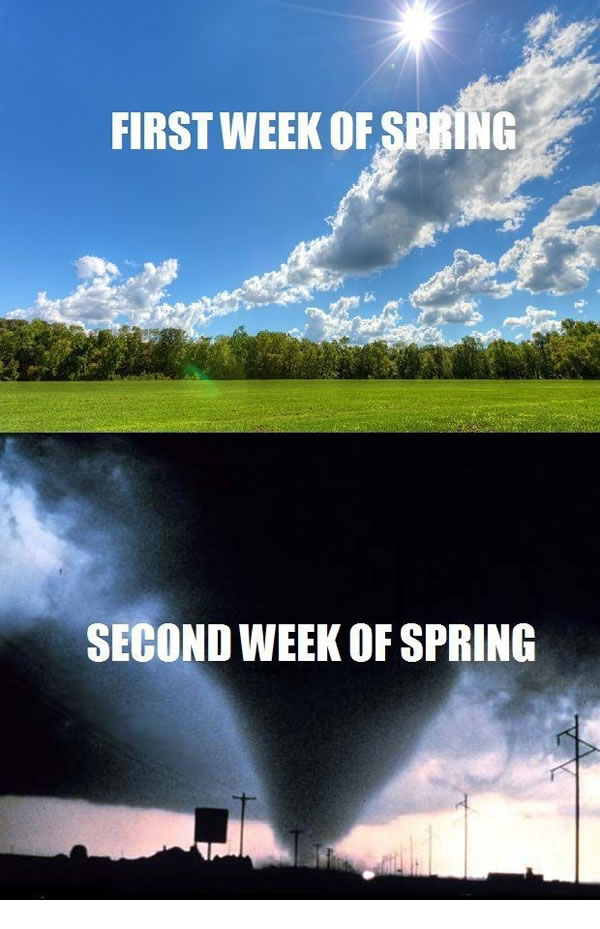 first 2 weeks of spring