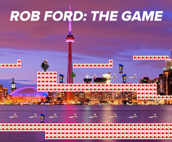 rob ford - the game