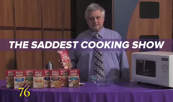 the saddest cooking show