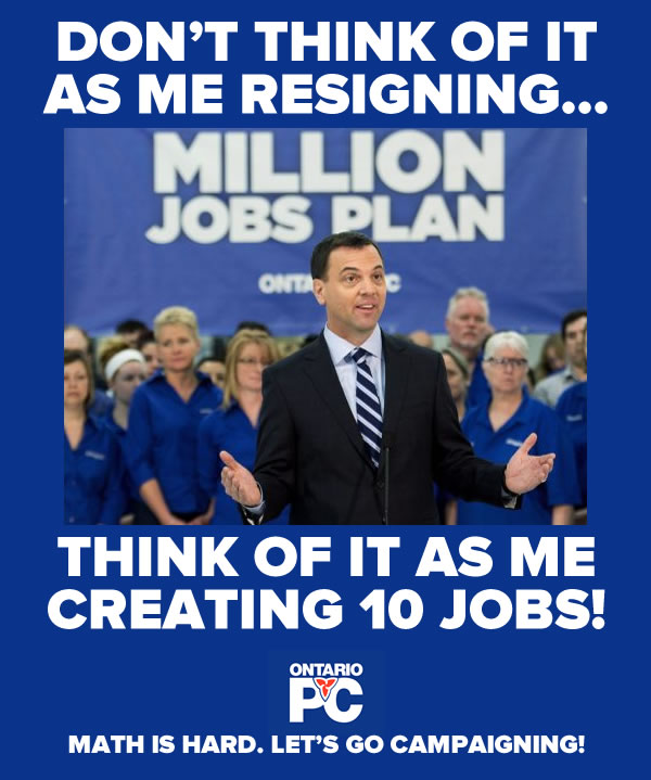 hudak resignation poster