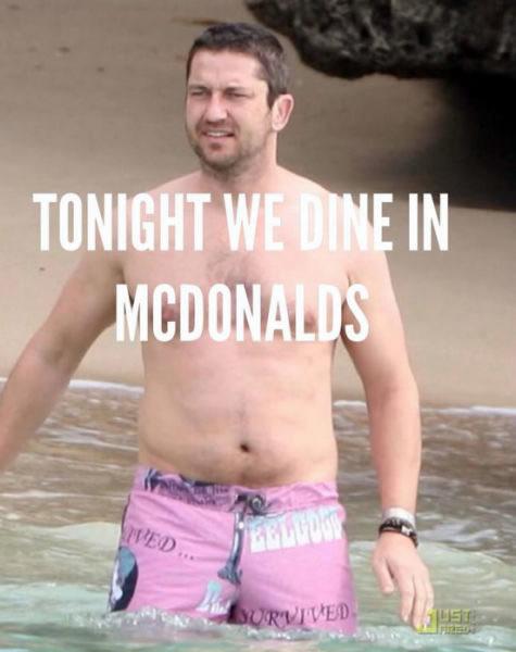 tonight we dine in mcdonald's