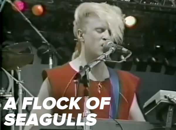 A Flock of Seagulls at the 1983 US Festival