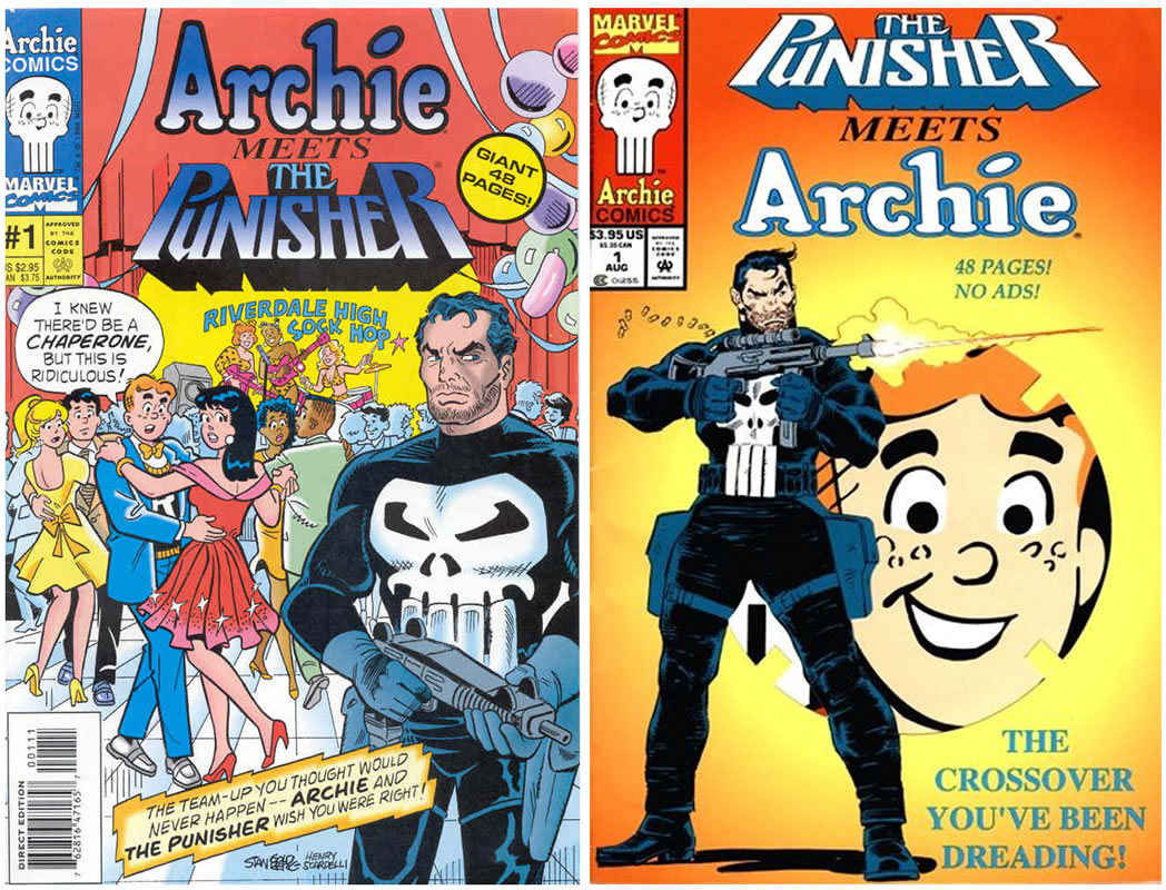 archie punisher covers