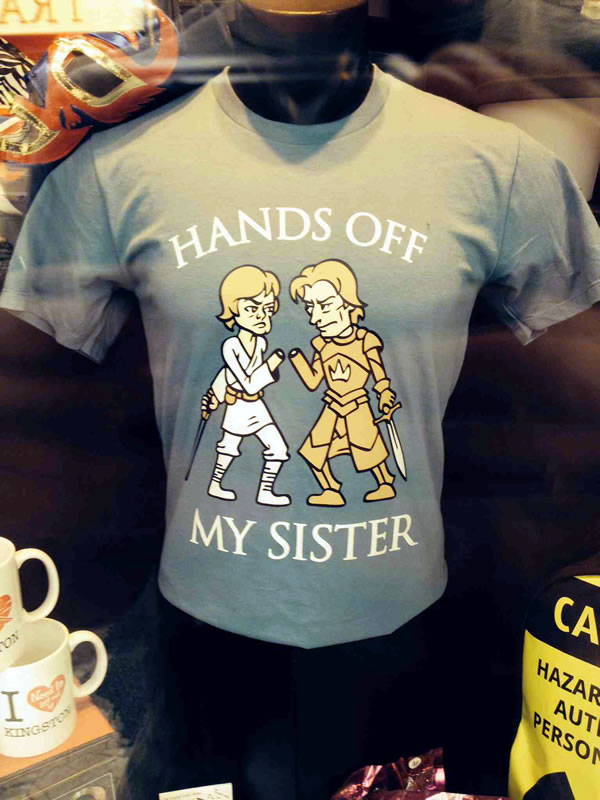 hands off my sister