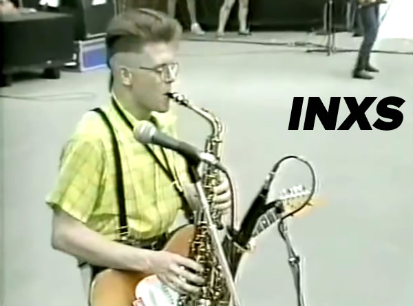 INXS at the 1983 US Festival