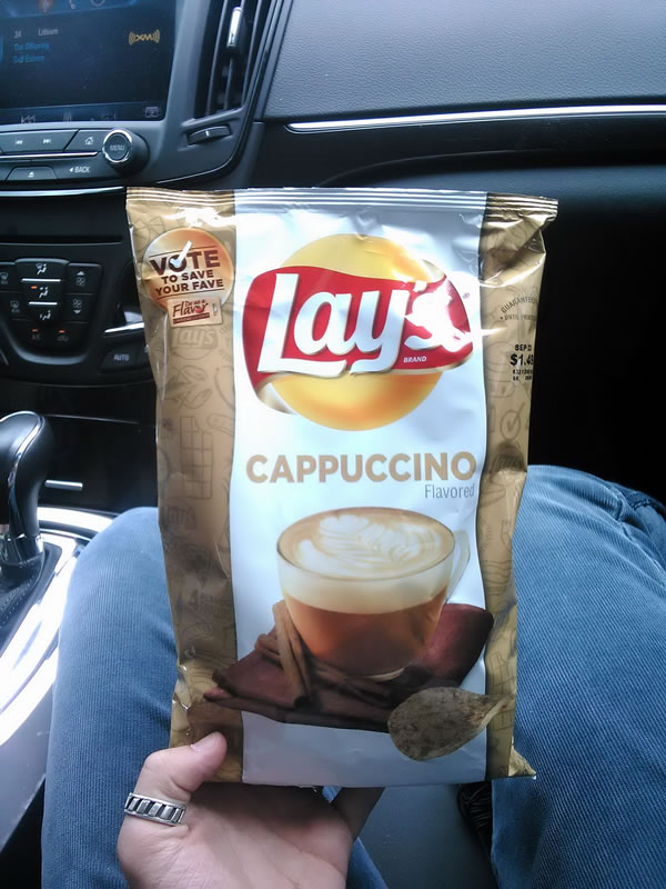 lays capuccino chips
