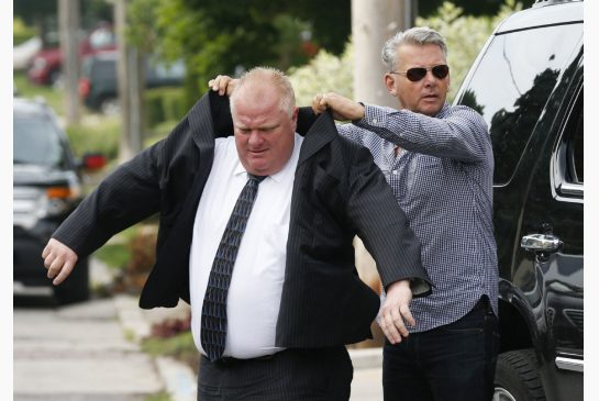 rob ford and bob marier
