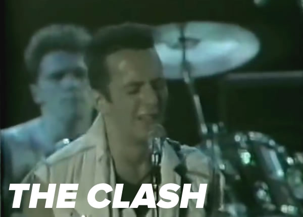The Clash at the 1983 US Festival