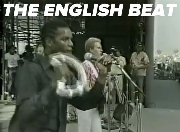 The English Beat at the 1983 US Festival