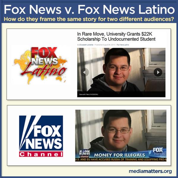 fox news vs fox news latino