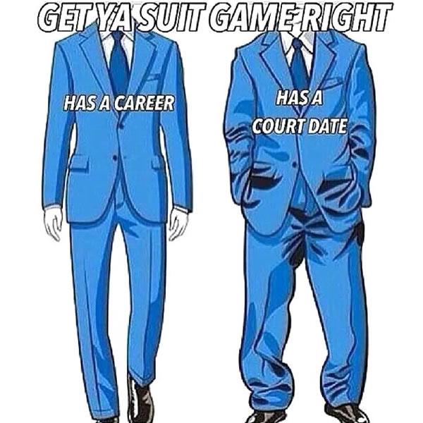 get ya suit game right