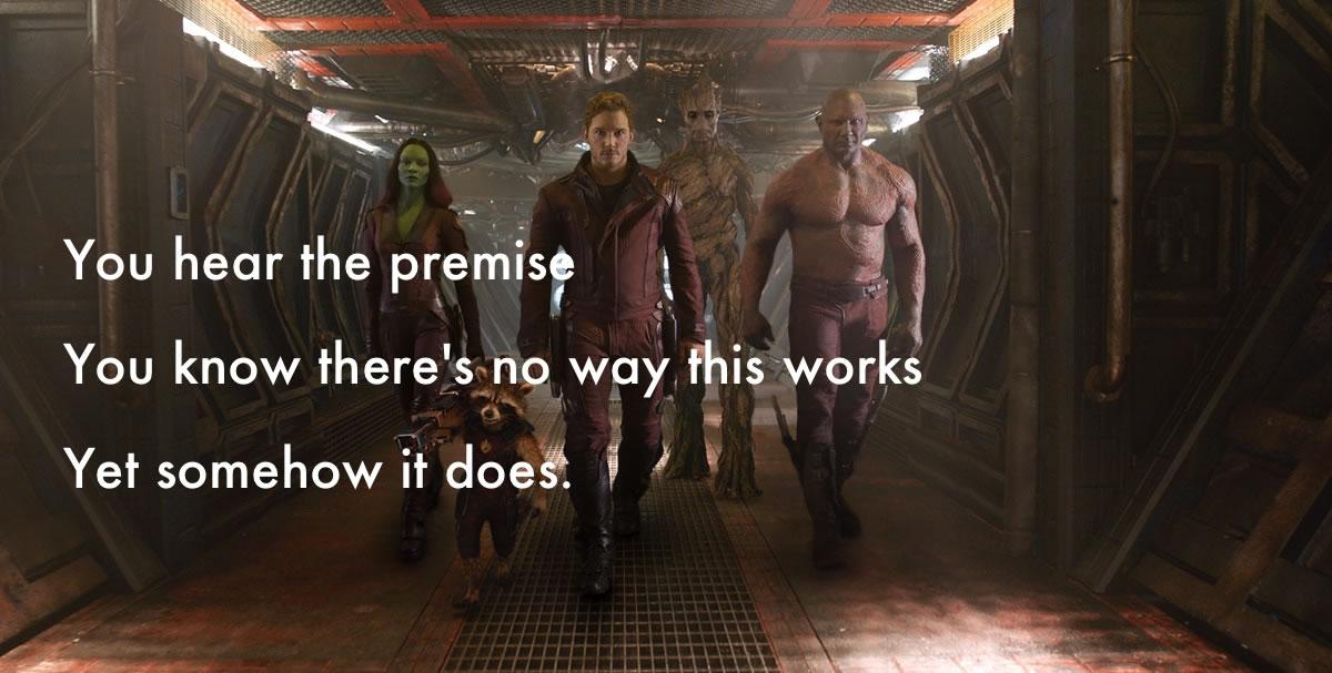 guardians of the galaxy haiku review